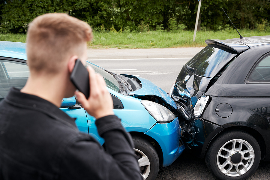 Payout after an automobile accident
